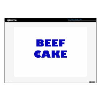 """Beef Cake 15"""" Laptop Skin"""
