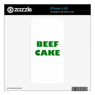 Beef Cake Decals For The iPhone 4S