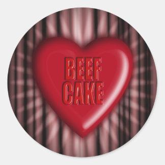Beef Cake Sticker