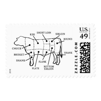 BEEF COW POSTAGE