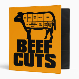 Beef_Cuts 3 Ring Binder