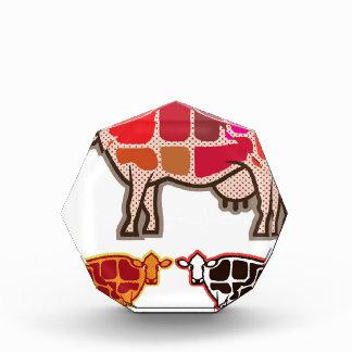 Beef Cuts Acrylic Award