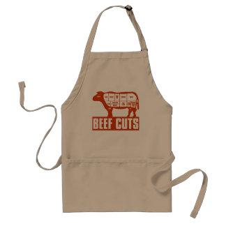 Beef_Cuts Adult Apron
