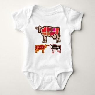 Beef Cuts Baby Bodysuit