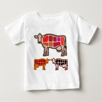 Beef Cuts Baby T-Shirt