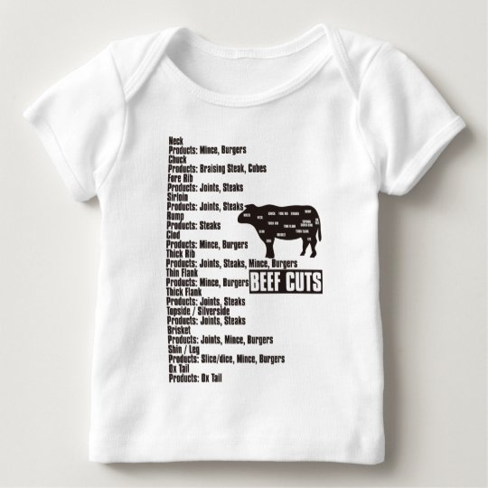 Beef_Cuts Baby T-Shirt