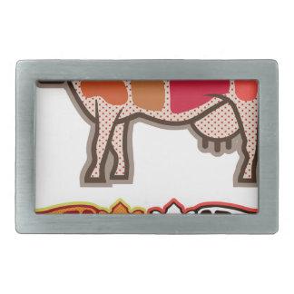 Beef Cuts Belt Buckle