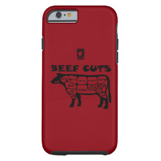BEEF CUTS < Black > Tough iPhone 6 Case