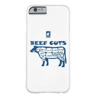 BEEF CUTS < Blue > Barely There iPhone 6 Case