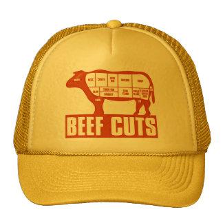 Beef_Cuts Trucker Hats