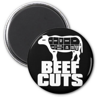 Beef_Cuts Imán Redondo 5 Cm
