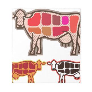 Beef Cuts Notepad