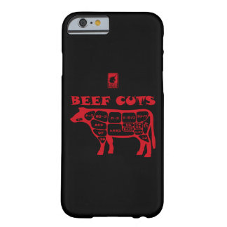 BEEF CUTS < Red > Barely There iPhone 6 Case