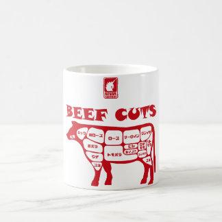 BEEF CUTS < Red > Coffee Mug