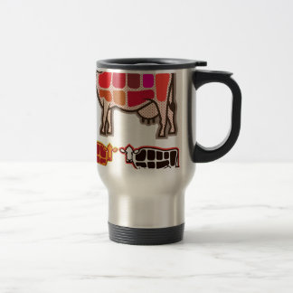Beef Cuts Travel Mug