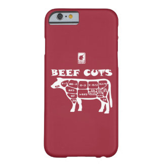 BEEF CUTS < White > Barely There iPhone 6 Case