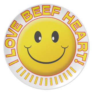 Beef Heart Smile Plate