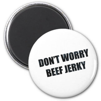 BEEF JERKY 2 INCH ROUND MAGNET