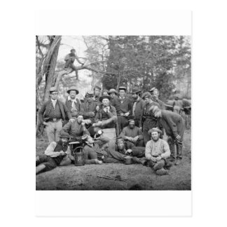 Beef-Killers of the Army, 1862 Post Card