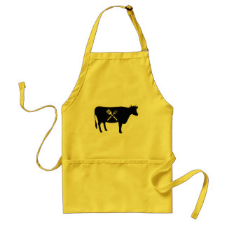 Beef King of Meats Food BBQ Adult Apron