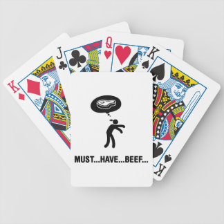 Beef Lover Deck Of Cards