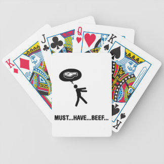 Beef Lover Bicycle Card Deck