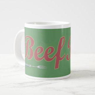 Beef n' Fork Giant Coffee Mug