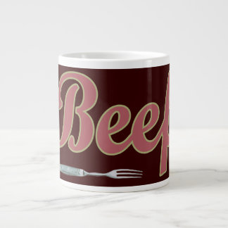 Beef n' Fork Large Coffee Mug