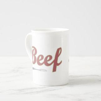 Beef n' Fork Tea Cup