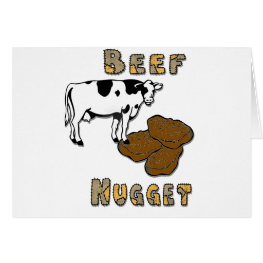 Beef Nugget Card