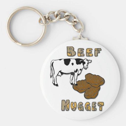 Beef Nugget Keychains
