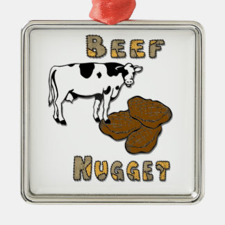 Beef Nugget Christmas Ornaments
