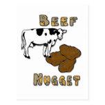 Beef Nugget Postcard