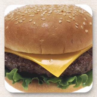 Beef Patti Sandwich Lunch Food Cheeseburger Drink Coaster