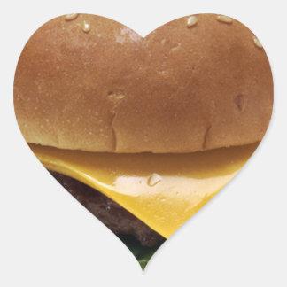 Beef Patti Sandwich Lunch Food Cheeseburger Heart Sticker