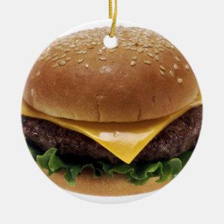 Beef Patti Sandwich Lunch Food Cheeseburger Ornaments