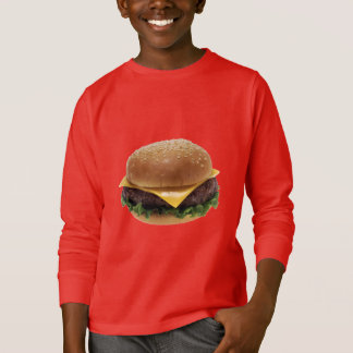 Beef Patti Sandwich Lunch Food Cheeseburger T-Shirt