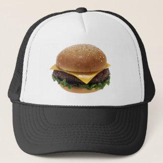 Beef Patti Sandwich Lunch Food Cheeseburger Trucker Hat