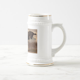 Beef, Pork, and Poultry Beer Stein