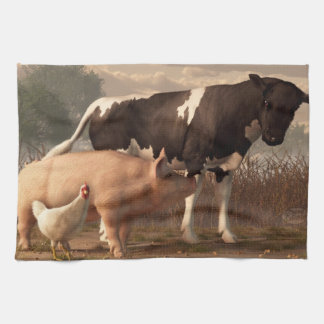 Beef, Pork, and Poultry Kitchen Towels