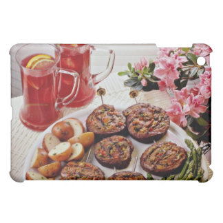 Beef rolls with boiled potatoes flowers iPad mini cases