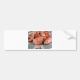 Beef rouladen with ham and cheese bumper sticker