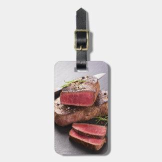 Beef steak bag tag