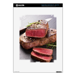 Beef steak iPad 3 skins