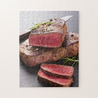 Beef steak jigsaw puzzle