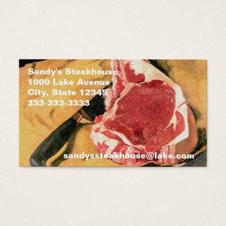 Beef Steak Vintage Art by Felix Vallotton Business Card