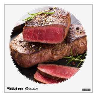 Beef steak wall decal