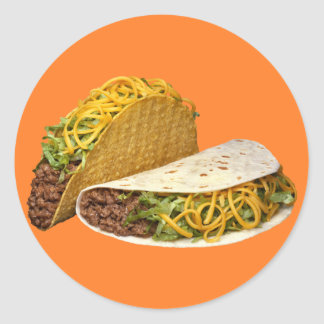 Beef Taco Stickers