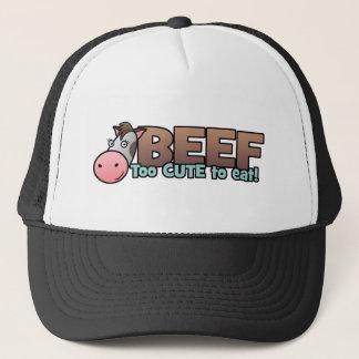 Beef: Too Cute To Eat Trucker Hat