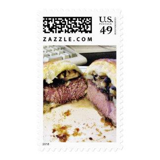 Beef Wellington Postage Stamps